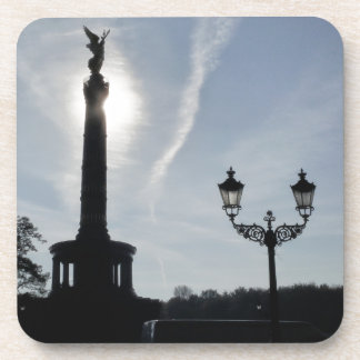 Victory-Column with street lamp, Berlin Drink Coaster