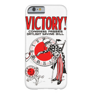 Victory! Daylight Savings Time US Government Ad Barely There iPhone 6 Case