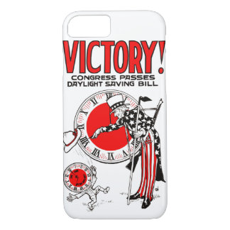 Victory! Daylight Savings Time US Government Ad iPhone 8/7 Case
