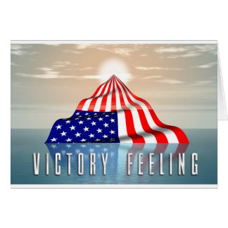 Victory Feeling Greeting Card