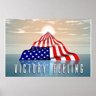 VICTORY FEELING PRINT