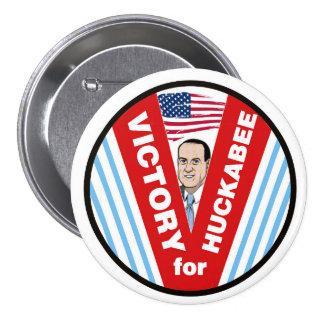 Victory for Huckabee 2016 7.5 Cm Round Badge