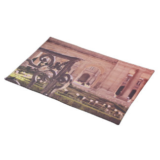 Victory Garden Gate Cloth Placemat
