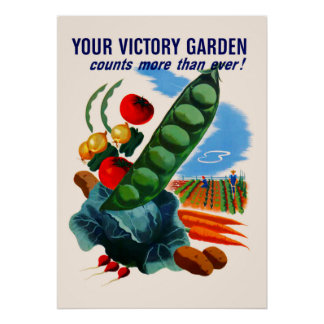 Victory Garden (large) Poster