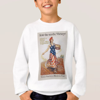 Victory Garden Liberty Sow Seeds WWI Propaganda T-shirts
