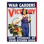 Victory Garden Postcards