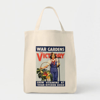 Victory Garden Tote Bags