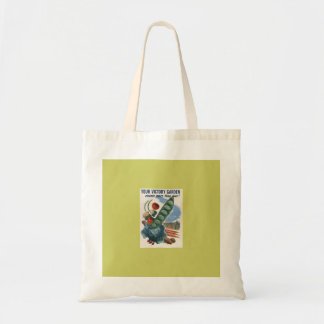 Victory Garden Budget Tote Bag