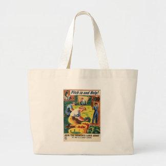 Victory Garden World War 2 Bags