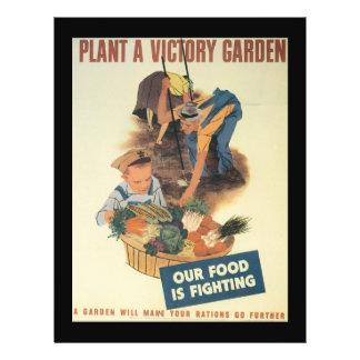 Victory Garden World War 2 21.5 Cm X 28 Cm Flyer
