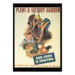 Victory Garden World War 2 Personalized Invites