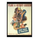 Victory Garden World War 2 Personalized Invites