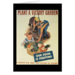 Victory Garden World War 2 Stationery Note Card