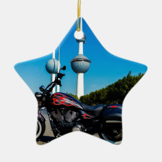Victory High Ball at Kuwait Towers Ceramic Star Decoration