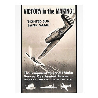 Victory In The Making Custom Flyer
