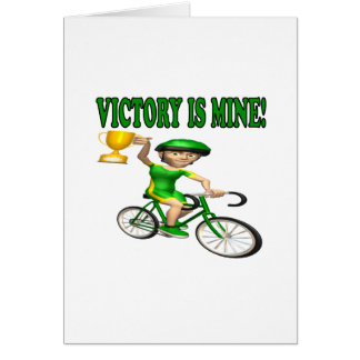 Victory Is Mine Greeting Card