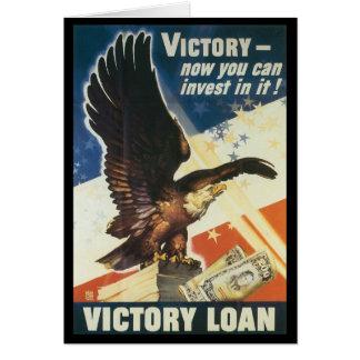 Victory Loan World War 2 Greeting Card