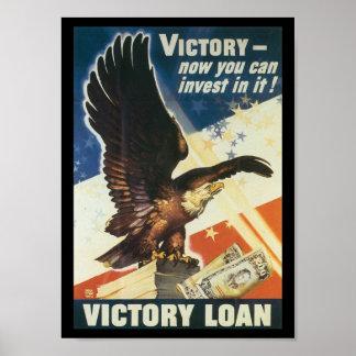 Victory Loan World War 2 Poster