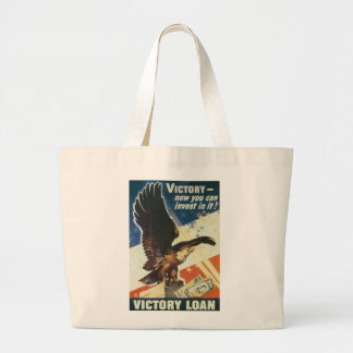 Victory - Now You Can Invest In It! Jumbo Tote Bag