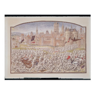 Victory of the inhabitants of Ghent led by Postcard