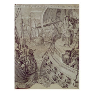 Victory of the Navy of Louis XIV Postcard