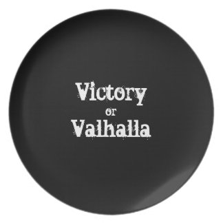 Victory or Valhalla gift Plate