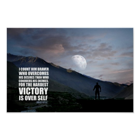 Victory Over Self Poster