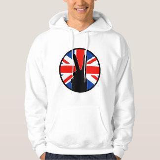 Victory Sign (British) Hoodie