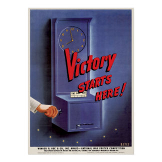 Victory Starts Here Poster
