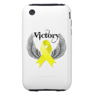 Victory Wings - Sarcoma Tough iPhone 3 Covers