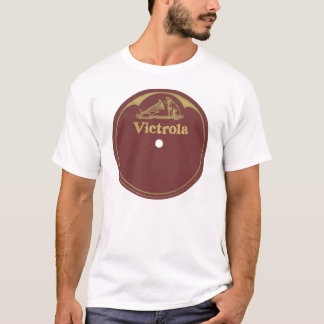 Victrola Record Label - Blank T-Shirt