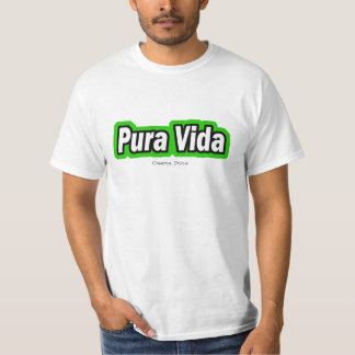 Vida, Costa Rica - Customized T-Shirt