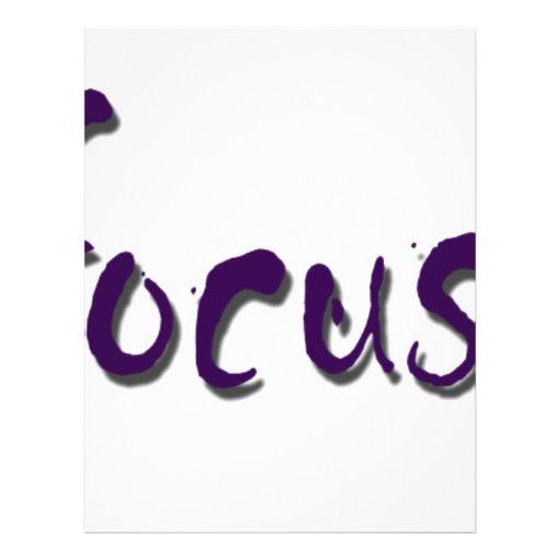 vidafocus.com personalized flyer