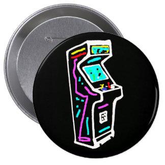 Video Arcade Button Pin