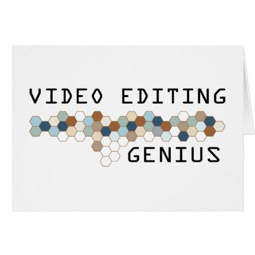 Video Editing Genius Card