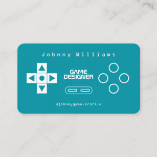 Video business cards business card printing zazzle uk video game console joypad cover business card reheart Images