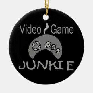 Video Game Junkie Christmas Ornament