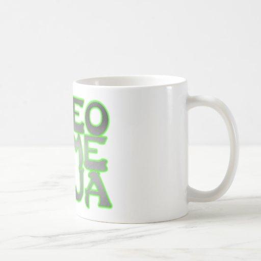 VIDEO GAME NINJA (green) Coffee Mugs