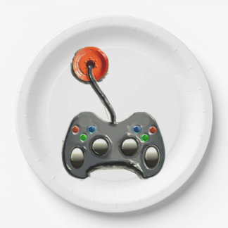 Video Game Party 9 Inch Paper Plate