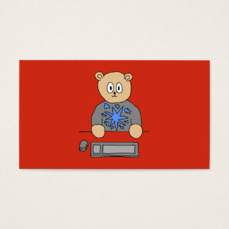 Video Game Player Bear.