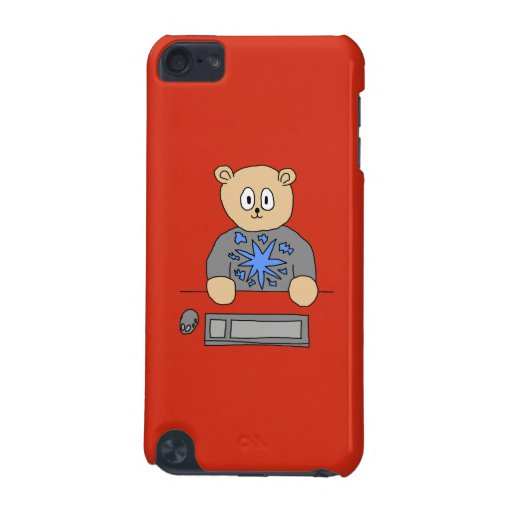 Video Game Player Bear. iPod Touch 5G Case