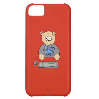 Video Game Player Bear iPhone 5C Covers