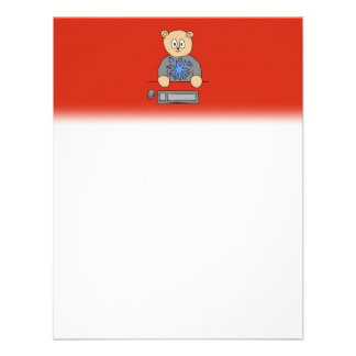 Video Game Player Bear Personalized Invite