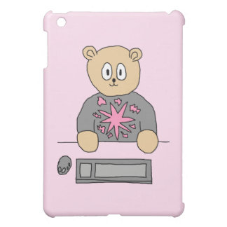 Video Game Player Bear. iPad Mini Case
