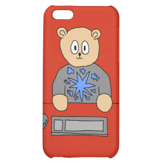 Video Game Player Bear iPhone 5C Cases