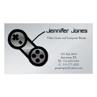 Video Game Repair Business Card