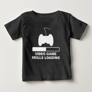 Video Game Skills Loading T-shirts