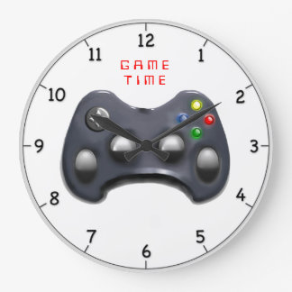 video gamer gifts wallclocks
