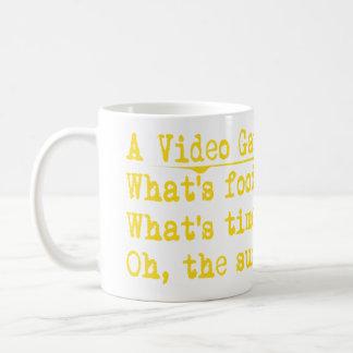 (video gamers mind coffee mug