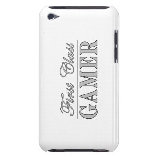 Video Games and Gamers : First Class Gamer Barely There iPod Cover